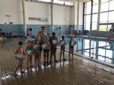 El pasado sábado tuvo lugar la primera clausura y entrega de diplomas de los cursos de natación de move