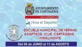 El concejal de Deportes visita la Escuela Municipal de Verano Adaptada Icue