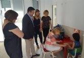 El centro de atención temprana de Alcantarilla atiende a 80 niños con problemas de desarrollo o riesgo de padecerlos