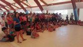Un centenar de nadadores de entre 4 y 17 años participaron en la tradicional Competicion Interpiscinas Escuelas de Natacion