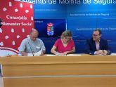 El Ayuntamiento de Molina de Segura y la Fundación Carlos Soriano firman un convenio de colaboración para plazas residenciales de emergencia social