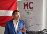 MC exigirá que la ruta de 'EuroVelo' discurra por la Comarca de Cartagena y no se aleje del Mediterráneo, como pretende el Gobierno regional