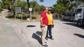 Arreglo urgente de baches en la carretera de las Cuestas del Marqu�s