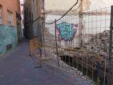 Ahora Murcia denuncia el estado de insalubridad de una acequia desde hace semanas en pleno barrio del Carmen