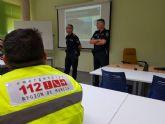 La Policía Local de Cartagena colabora en la formación de los voluntarios de Protección Civil