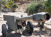 La Guardia Civil se incauta de cuatro cañones de artillería en una finca rústica de Abanilla