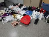 La Policía Local decomisa 67 productos falsificados en el mercadillo del Cénit