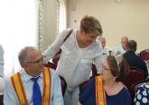 Los mayores de El Albujón celebran su día en las fiestas patronales en honor a San Juan Bautista