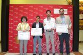 La Universidad de Murcia homenajea a los graduados que han obtenido un Premio Nacional Fin de Carrera