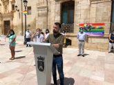 Mazarrón celebra el Día del Orgullo con la lectura del manifiesto en defensa de los derechos LGTBI
