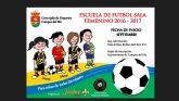 El Jimbee Roldán presenta la Escuela de Fútbol Sala Femenino de Campos del Río