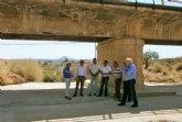 Fomento repara en Abanilla el puente sobre la rambla del río Zurca en la carretera de Barinas