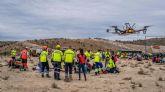 La UCAM incorpora los drones en Enfermería, tras demostrar su eficiencia en emergencias y catástrofes