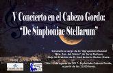 'De Shinfhonie Stellarum' bajo las estrellas en el Cabezo Gordo