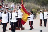 Cerca de 200 Infantes de Marina han participado en el solemne acto de Jura de Bandera