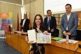 Mª José Usero Lorca, del IES Juan de la Cierva y Codorníu, segunda clasificada en la IX Olimpiada de Economía de la Región de Murcia