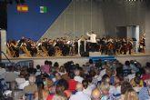 La Joven Orquesta del Noroeste de la Región de Murcia ofrecío un concierto en Lo Pagán