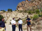 La Comunidad invertirá más de 265.000 euros en la consolidación de laderas para garantizar la seguridad en Ulea