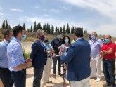 Visita del Consejero de Fomento y el Director General de Carreteras para el arreglo de la RM-531 y el cambio del Arco Noroeste
