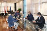 El consejero Antonio Sánchez se reúne con el presidente del Consejo de la Transparencia de la Región de Murcia