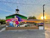 El Ayuntamiento de Lorca finaliza el proyecto ´Murales en las Pedanías Norte de Lorca´