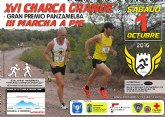 La XVI Charca Grande, gran premio Panzamelba, organizada por el Club Atletismo Totana, tendrá lugar el sábado 1 de octubre