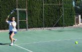 Inicio del curso 2016-17 de la escuela de tenis del club de tenis Totana