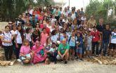 Rebeca Pérez despide al grupo de menores saharauis que han pasado el verano en Murcia