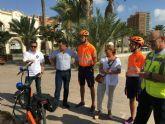 Protección Civil de San Javier  incorpora dos patinetes eléctricos adaptados con material de primera asistencia