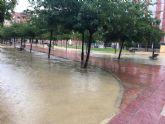El aviso naranja por fuertes lluvias se mantiene hasta las 20.00 horas de hoy