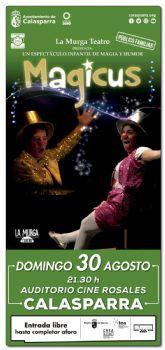 Llega a Calasparra 'MAGICUS' el espectáculo de magia y humor