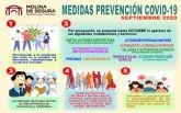 El Comité Técnico-Científico de Seguimiento del COVID-19 en Molina de Segura aprueba nuevas medidas
