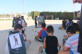 La alcaldesa visita la Escuelas de verano municipal que se ha desarrollado en Los Antolinos y Los Pinos