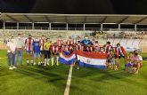 El 'Albirroja', campeón del 'Trofeo Alcalde' de fútbol 7 de las fiestas de Las Torres de Cotillas
