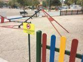 Inician los trabajos para construir un nuevo parque con juegos infantiles en el recinto ferial