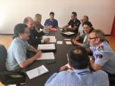 Comunidad y Ayuntamiento de Murcia coordinan la atención a emergencias