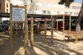 La Universidad de Murcia instala tres gimnasios urbanos al aire libre en el Campus de Espinardo
