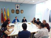 Primera reunión de la comisión para iniciar el proceso de nombramiento como Alcaldesa Perpetua a la Patrona de Archena, la Virgen  de la Salud