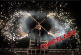 El 50 Festival Internacional de Teatro de Molina de Segura informa que el espectáculo On Fire, previsto para el domingo 29 de septiembre, queda CANCELADO