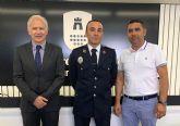 Diego Pérez toma posesión en firme de su cargo de sargento de la Policía Local torreña