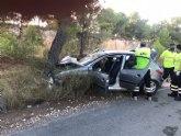 Heridos de un accidente de tr�fico en Alhama de Murcia