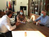 Moreno califica de 'muy positivo' el encuentro con el nuevo presidente de Cruz Roja Águilas