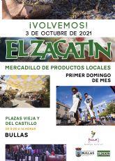 El próximo domingo regresa El Zacatín dedicado a la vendimia