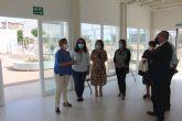El CERMI visita las instalaciones de la nueva residencia de AIDEMAR en San Pedro del Pinatar