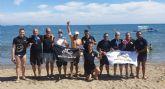 El CN Master Murcia subcampeones en la Copa de Espana de aguas abiertas