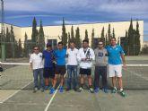 Germán Reinaldosrenueva su título de campeón del Torneo de Tenis 'Fiestas de octubre'