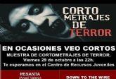 El Centro de Recursos Juveniles acogerá la segunda muestra de cortometrajes de terror