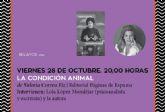 La autora argentina Valeria Correa presenta su libro de relatos La condición animal en El Luzzy