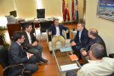 El alcalde de Alguazas pide a la UPCT su colaboración en la recuperación ambiental de la depuradora de lagunaje