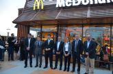 El alcalde destacó la creación de 48 puestos de trabajo en la inauguración del segundo restaurante de McDonalds en San Javier